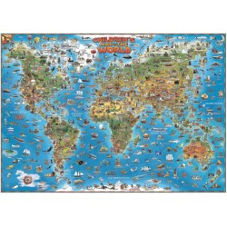 World Map for Children